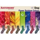 Austermann Step Flower Rainbow 100g Sockenwolle