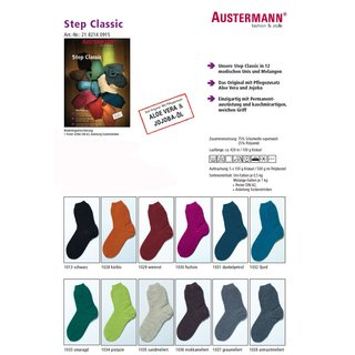 Austermann Step Classic 100g Sockenwolle