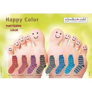 Schoeller Fortissima Happy Color 100g Sockenwolle